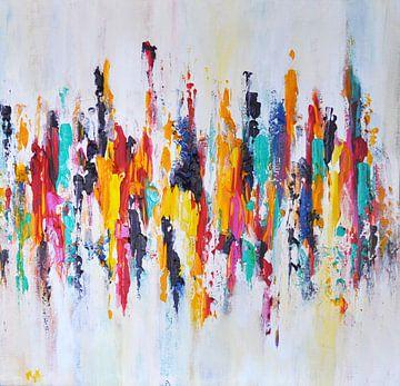 Rainbow Reflections 3 van Maria Kitano