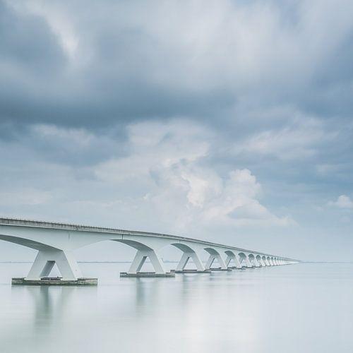 Lange sluitertijd Zeelandbrug (VIII) van