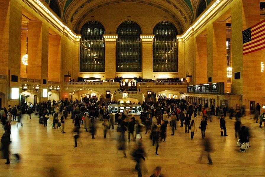 Grand Central Station New York van Tineke Visscher