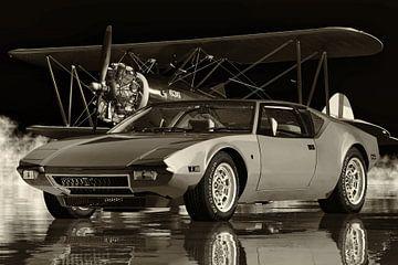 De Tomaso Pantera von 1971 - ein echter Sportwagen