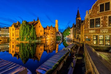 Rozenhoedkaai in Bruges sur Bert Beckers