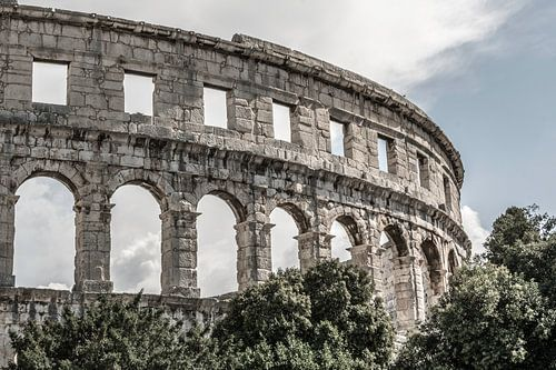 Amfitheater van Pula van