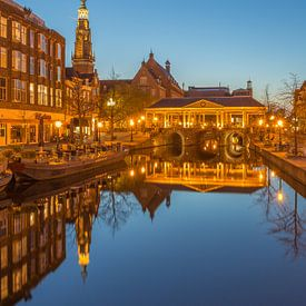 Leiden by Night - Koornbrug - 1 van Tux Photography