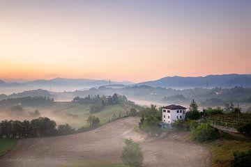 ochtendglorie in Italië van Kristof Ven