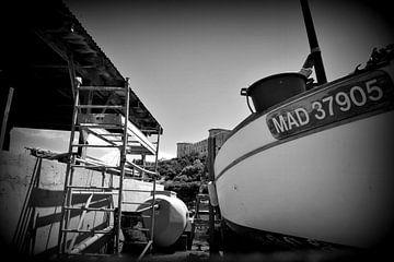 Réparation navale sur Martine Affre Eisenlohr