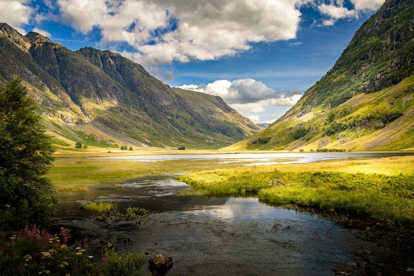 Glencoe Valley, Schottland von Dennis Wardenburg