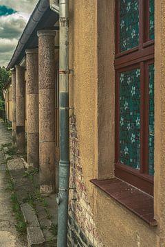 Erzgebirge Einsiedel Bahnhof und Stadt von Johnny Flash