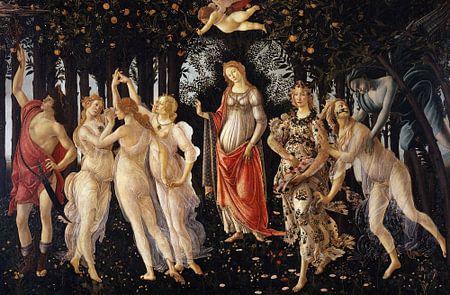 Sandro Botticelli - La Primavera van 1000 Schilderijen