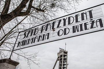 Szyb Prezydent, Präsident des Bergwerks in Chorzow Polen von Eric van Nieuwland