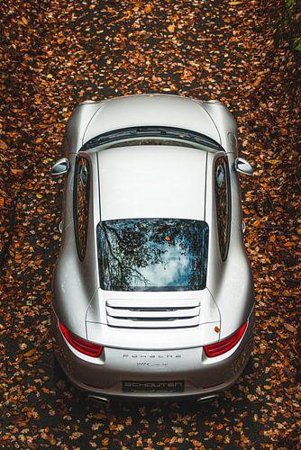 Porsche 911 Carrera 'van boven'.