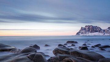 Strand Noorwegen van Steven Hendrix