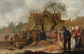 Schweinemarkt, Sybrand van Beest