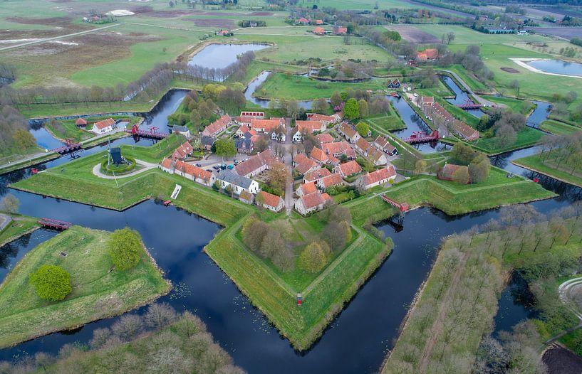 Landscape from the sky sur Marcel Kerdijk