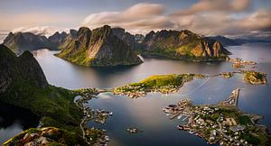 Reinefjorden panorama van