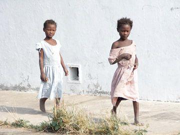 'Meisjes', Tanzania van Martine Joanne