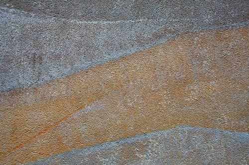 Muurschildering in pastel II van