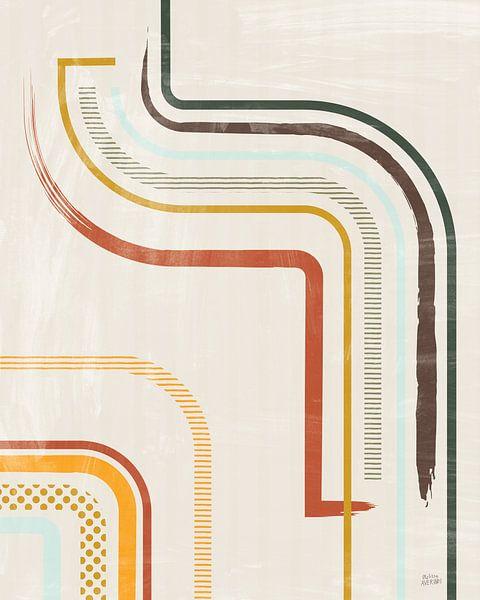 Verweilenden Linien I, Melissa Averinos von Wild Apple