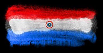Symbolische nationale vlag van Paraguay van Achim Prill