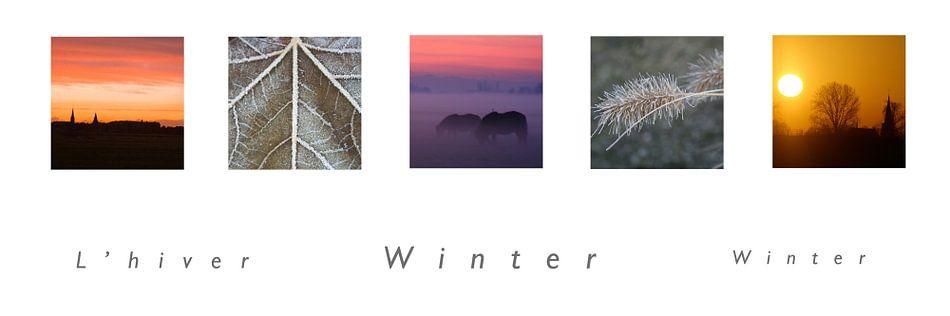 panorama winter van Karin Hendriks Fotografie