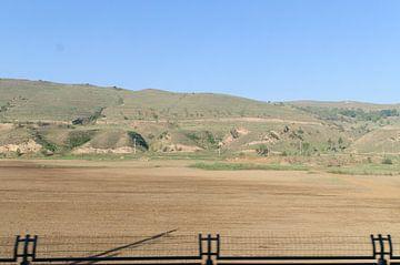 landschap met hek  von Robert Lotman