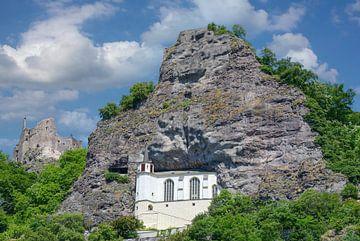 l'église rupestre d'Idar-Oberstein, en Allemagne