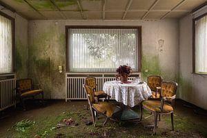 Verlaten Restaurant. van