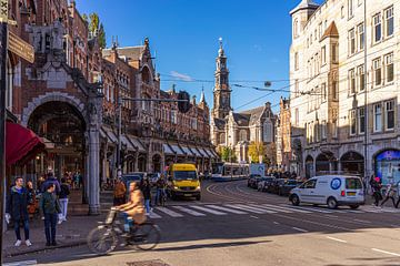 Ooh ooh Amsterdam (Westerkerk) wat ben je mooi! van Jeroen Somers