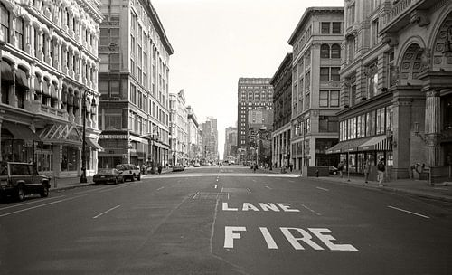 New York Fire lane von - Sierbeeld