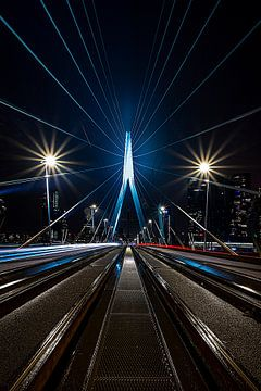 Erasmusbrücke aber anders! von Linda Vogel