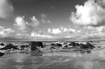 Wolken, water, wind van Wies Steenaard