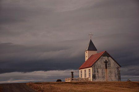 Little church in North Iceland von Elisa Hanssen