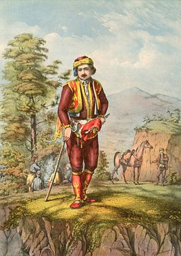 Turkije Turkey Türkiye man 1862