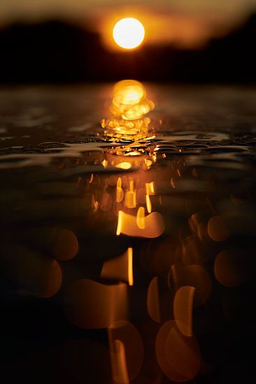 Gouden regendruppels