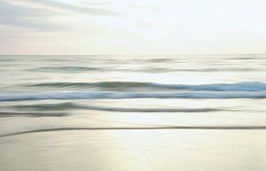 Zee in beweging van