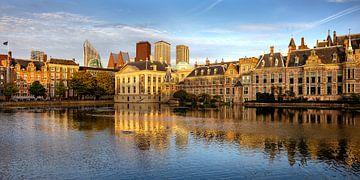Hofvijver et Binnenhof, La Haye, Pays-Bas sur Adelheid Smitt