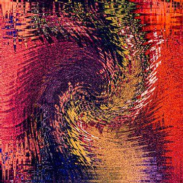 Heftig maar kleurrijk van Dick Jeukens