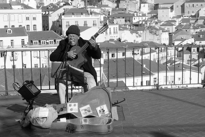 Blues in Lissabon van Inge Hogenbijl