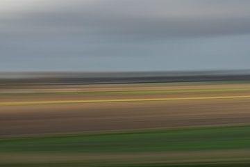 Impressionistisch polderlandschap van Leo Luijten
