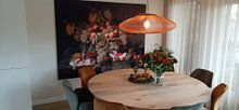 Klantfoto: Stilleven met fruit, Severin Roesen, als print op doek