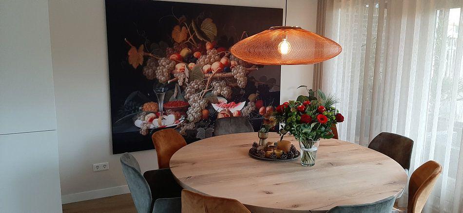 Klantfoto: Stilleven met fruit, Severin Roesen