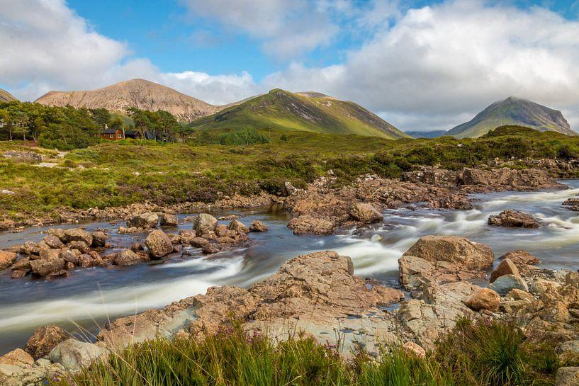Sligachan auf der Isle of Skye von Kim Claessen