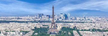 Blick von der Aussichtsplattform des Tour Montparnasse von Melanie Viola