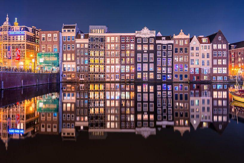 Nederlandse Reflecties op Damrak van Pieter Struiksma