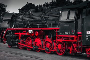 Duotone Lokomotive von Mario Brussé