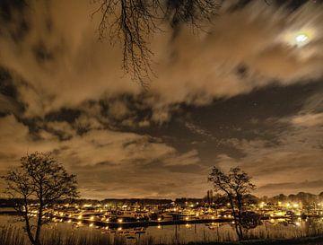 Eldorado haven by night, Plasmolen van Jeroen Hoogakker