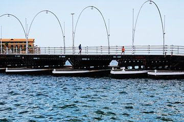 Curacao - Königin-Emma-Brücke von Rowenda Hulsebos