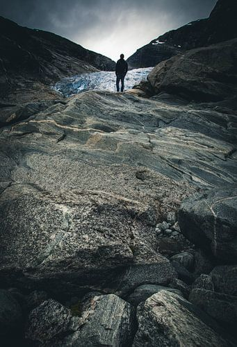 Gletcher hike van