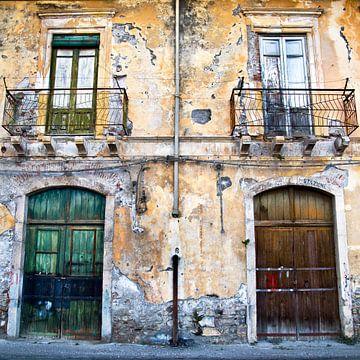 Geheimnisvolle, Sizilianische Fassade von Silva Wischeropp
