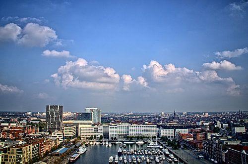 Antwerpen vanaf MAS II