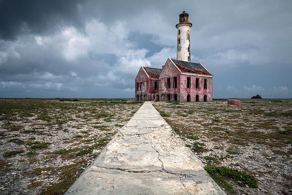 Vuurtoren Klein Curaçao van Martijn Smeets